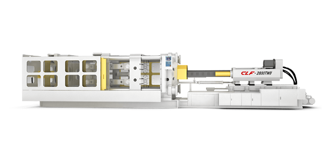 Outward Toggle Type Plastic Injection Molding Machine